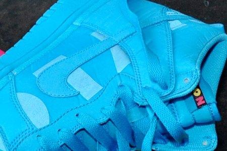 Nike Dunk Hi x Nylon