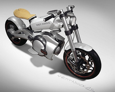 Eco Motorcycle x Harley Davidson
