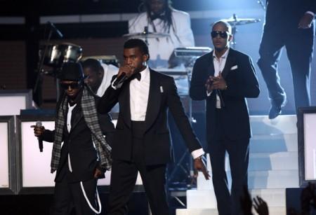Lil Wayne, Kanye West, TI