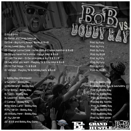 B.o.B vs Bobby Ray mixtape