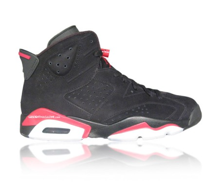 "Air Jordan VI ""Infrared"" 2010 Retro"