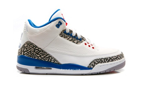 Air Jordan III True Blue Retro