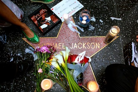 Michael Jackson's Hollywood Star