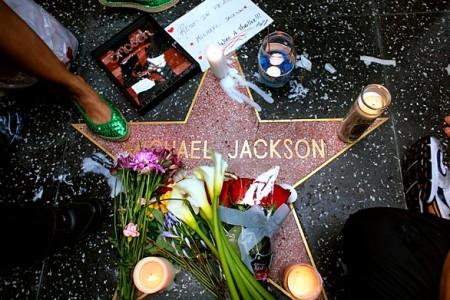 Michael Jackson's Hollywood Star
