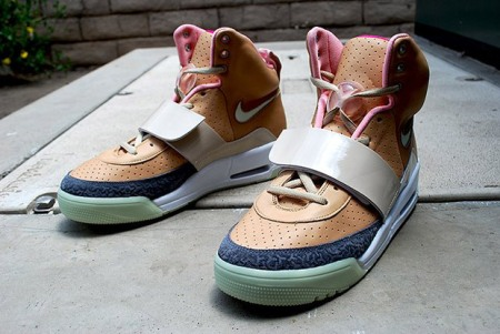 Nike Air Yeezy Khaki/Pink Colorway