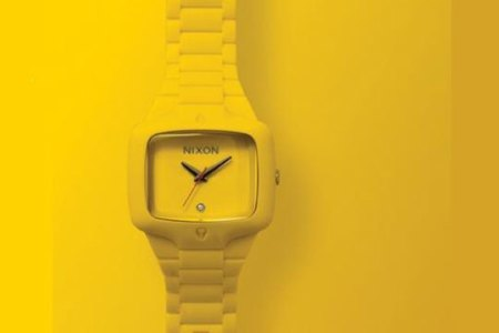 Nixon Rubber Player | Yellow Colorway