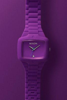 Nixon Rubber Player | Purple And Black Colorway