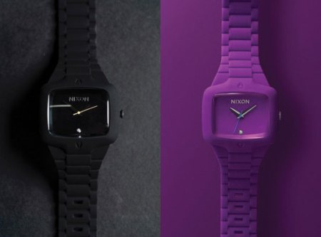 Nixon Rubber Player | Purple And Black Colorway