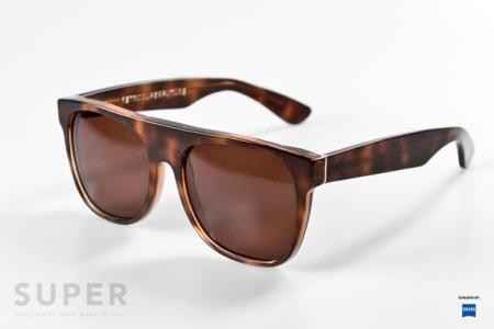 Super Flat Top Havana Sunglasses