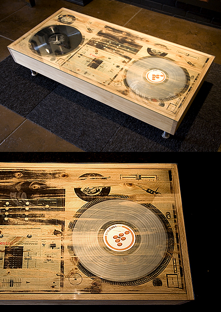 Scratch DJ Coffee Table