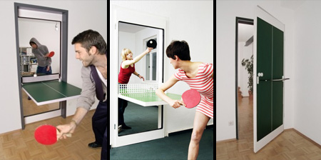The Ping Pong Door